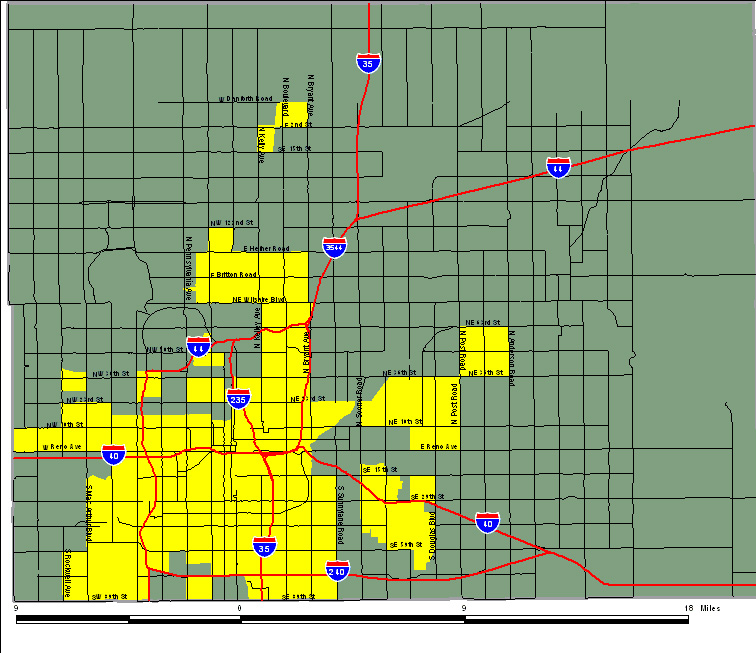 Overall Map | Greater Oklahoma City Economic Development